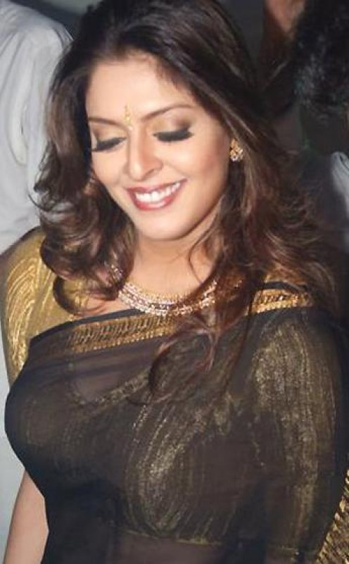 indian actress nagma in saree
