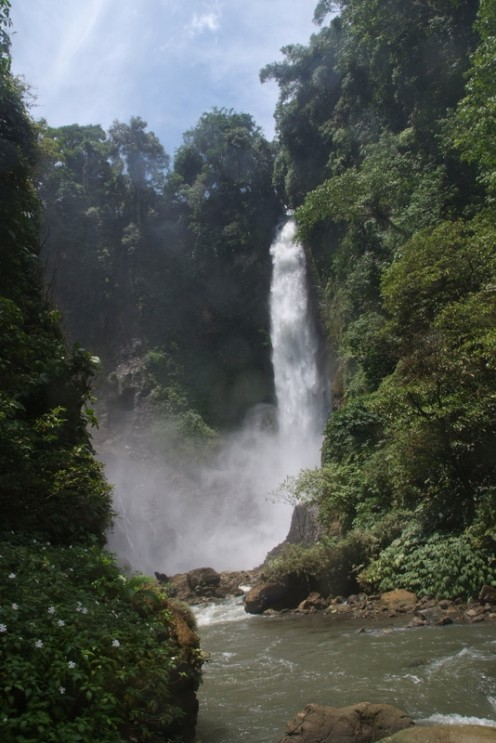 Lake Sebu`s 2nd falls is one of the 7 falls' most picturesque spot.