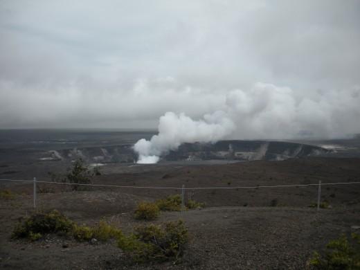 Eruption at Halemaumau Crater