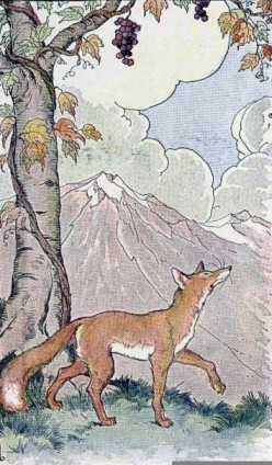 Aesop's Fables: The Fox and the Grapes: An Analysis