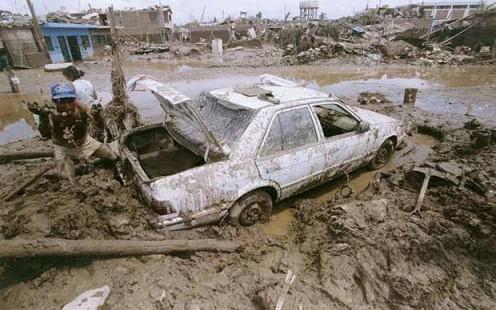 mudslide in Peru
