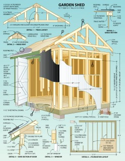Free Online Storage Shed Plans