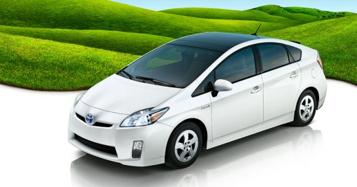 This is a picture of the Toyota Prius Hybrid Car 3rd Generation