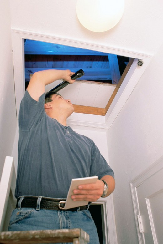 Always hire a professional to do a home inspection!