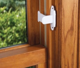 Install window stops like this one on windows that aren't used frequently.
