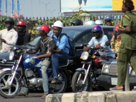 Okadas (Motor bikes)