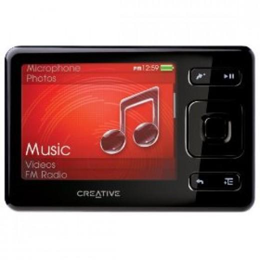 Creative Labs Zen MX 32 GB MP3 Player