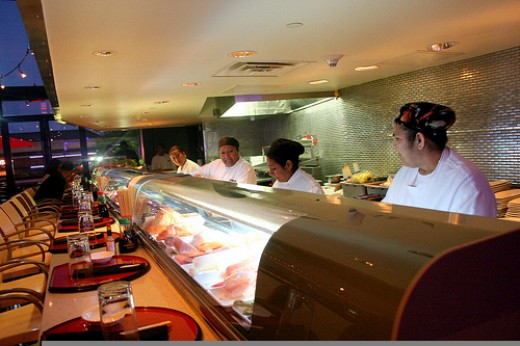 Strip's Sushi Bar on 2nd Level
