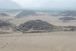 View from the Caral viewpoing