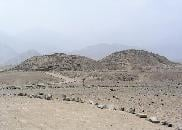Caral arqueological site