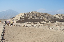 One of the Caral pyramids