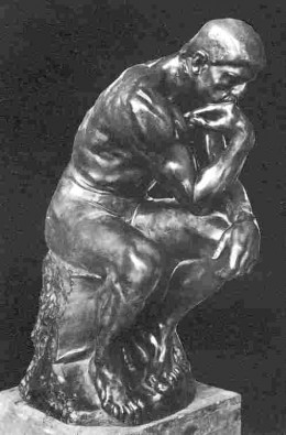 Auguste Rodin: The Thinker, the image of man meditating in the face of his destiny - Ionel Jianou