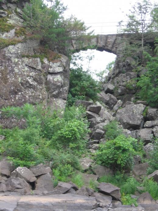 Footbridge at Beginning of Lower Section