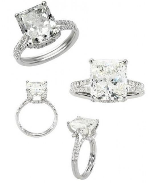 Cushion Cut Diamond: Cushion Cut Diamond Engagement Rings