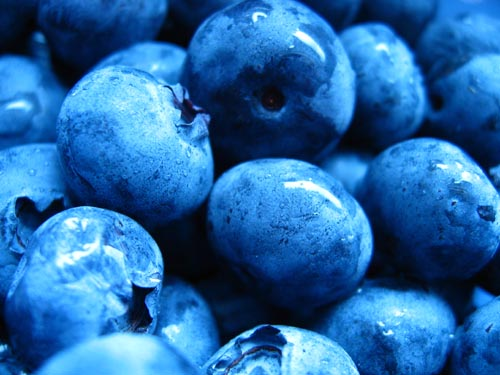 Blueberries are rich in antioxidants, which are good for the brain and important for overall nutrition as well.