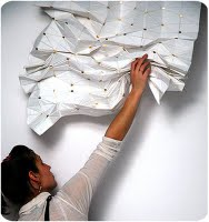 This is a Window Curtain that you Fold and it stays as you leave it there.No Strings attached.