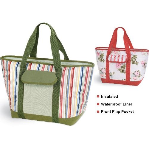 Waterproof insulated tote bag