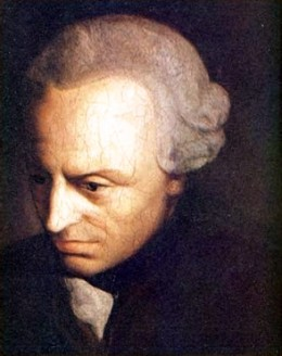 Immanuel Kant claimed that knowledge does not come wholly through experience.
