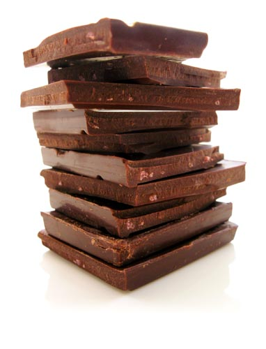 Chocolate is good for brain nutrition too! It's another great source of antioxidants. And you thought eating right was going to be hard :-)