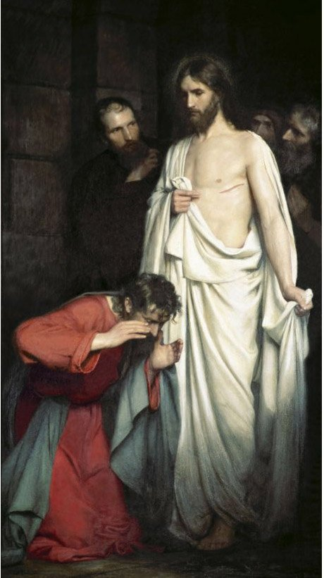 Because Jesus Christ is risen - all of Christianity looks to Him for salvation