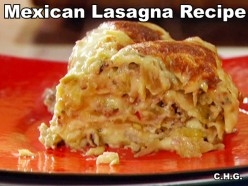Best Mexican Lasagna Ever