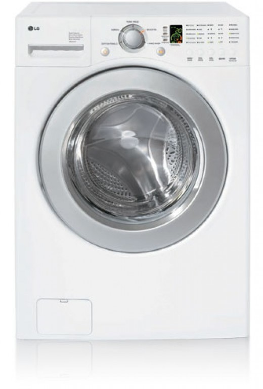 The Very Popular LG Electronics WM2016W Front Load Washing Machine