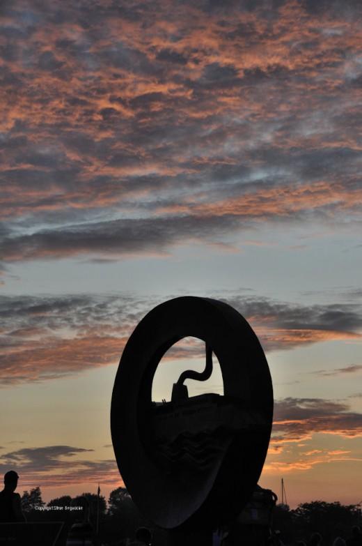 A Ludington sunset.