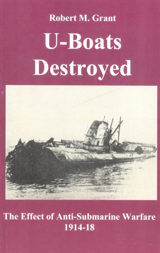 WWI U-boats destroyed