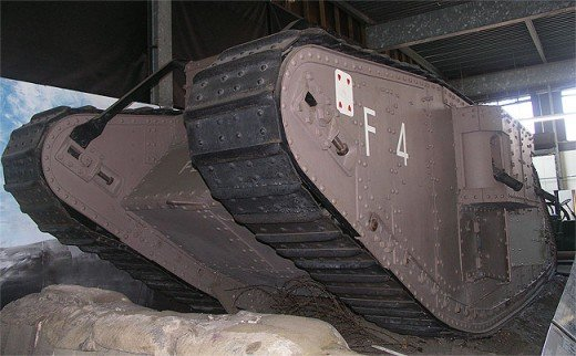 First world war - Mark 4 tanks
