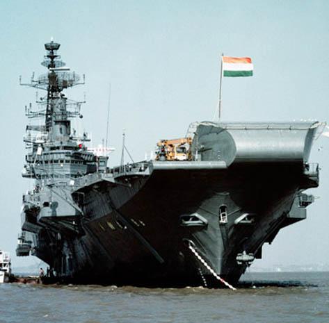 Indian Navyship.