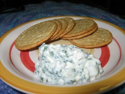 How to make spinach dip with fresh or frozen spinach