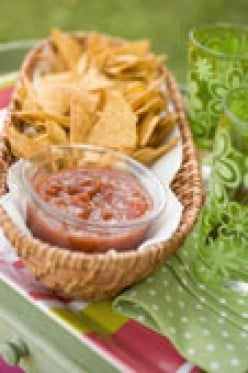 Homemade Salsa Recipe (best when mixed with love and laughter)
