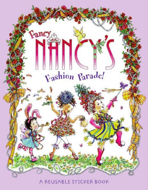 Fancy Nancy Reusable Sticker Book