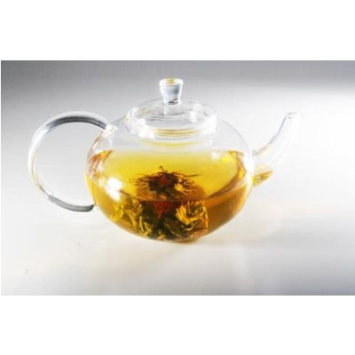 Sun's Glass Tea Set With Glass Infuser