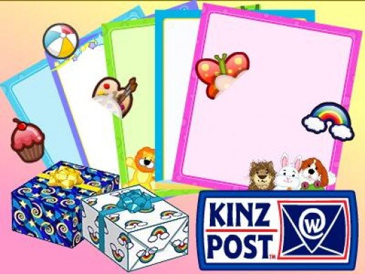 Get more choices at the KinzPost with a School Essentialz feature code!
