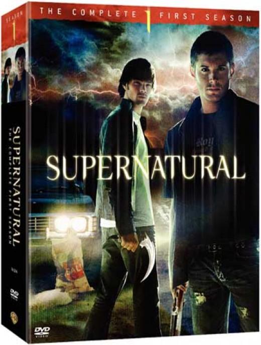 supernaturalDVDs Season One