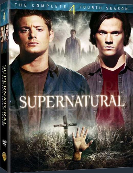 Supernatural DVDs Season 4
