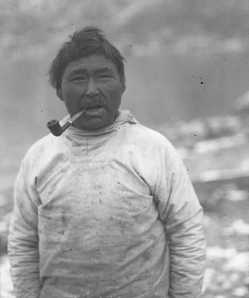 Rasmus Villumsen, Inuit, of the Wagener Expedition (public domain).