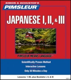 Pimsleur Language Programs: Learn To Speak Japanese Audio Lessons