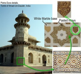 itmad-ud-Daulah Tomb with carpets