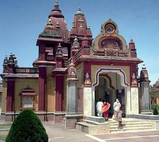 The famous Krishna temple of Mathura