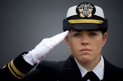...No. Ship's Navigator Lt. jg Shaina Hayden