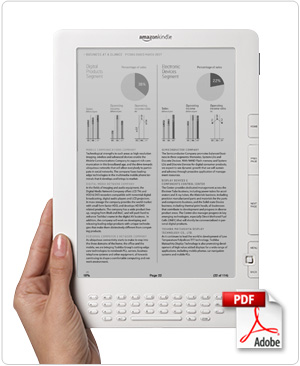 Kindle DX - With Native pdf Capabilities
