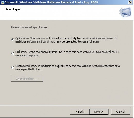 How do I get rid of the Trojan horse virus with Microsoft MSRT