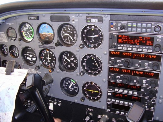 Cessna 172 The Instrument Panel