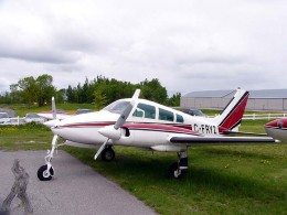 Cessna 310 another shot