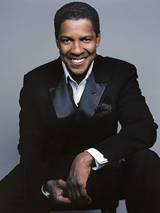 Famous black actors - Denzel Washington