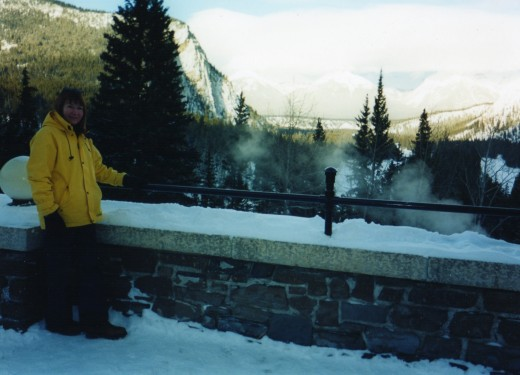 Banff Springs balcony
