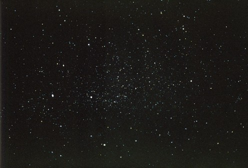 Constellation Cygnus shot with a 50 mm 1.4 Zeiss lens on 35 mm Fuji Provia 1600 film