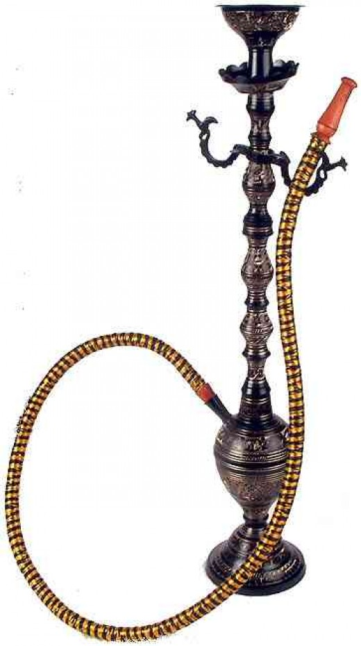 The Indian hookah